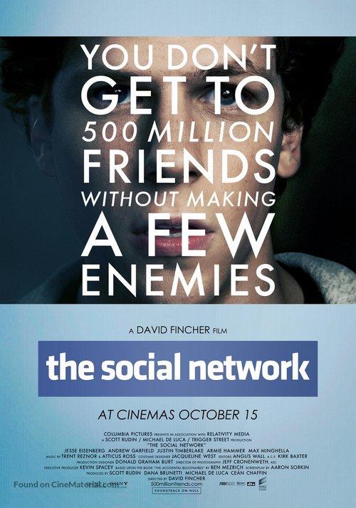 فیلم شبکه اجتماعی فیس بوک و زندگی نامه زاکربرگ